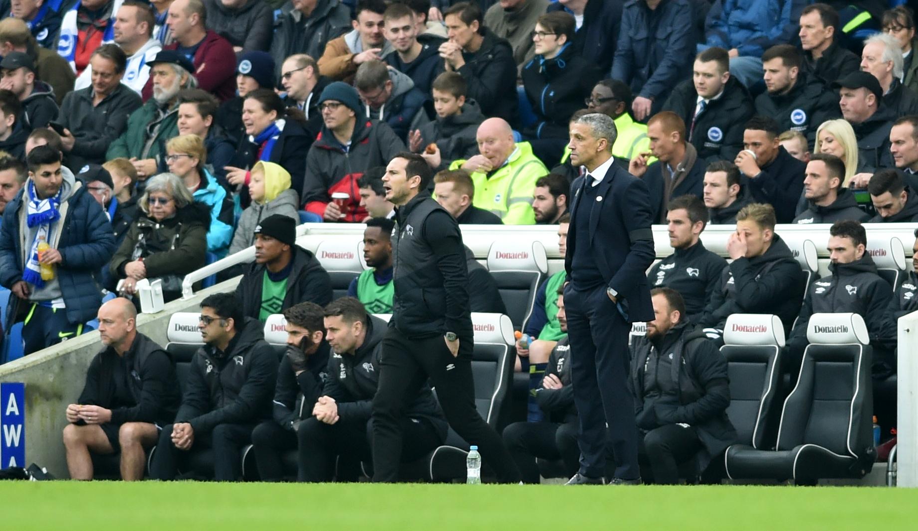 Hughton cautious about Albion's FA Cup chances