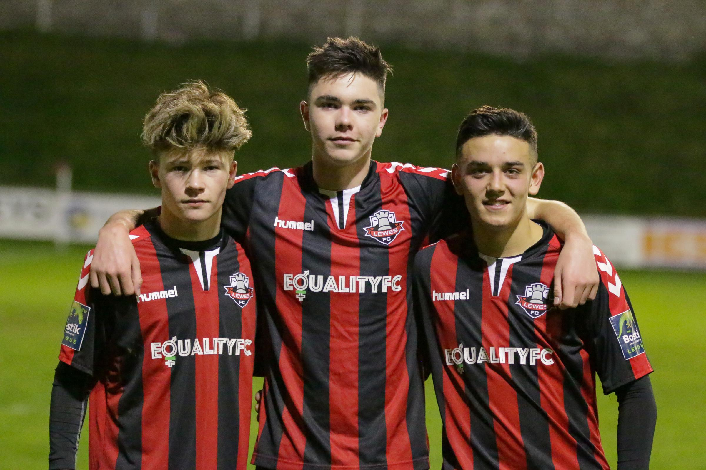 Lewes FC football players