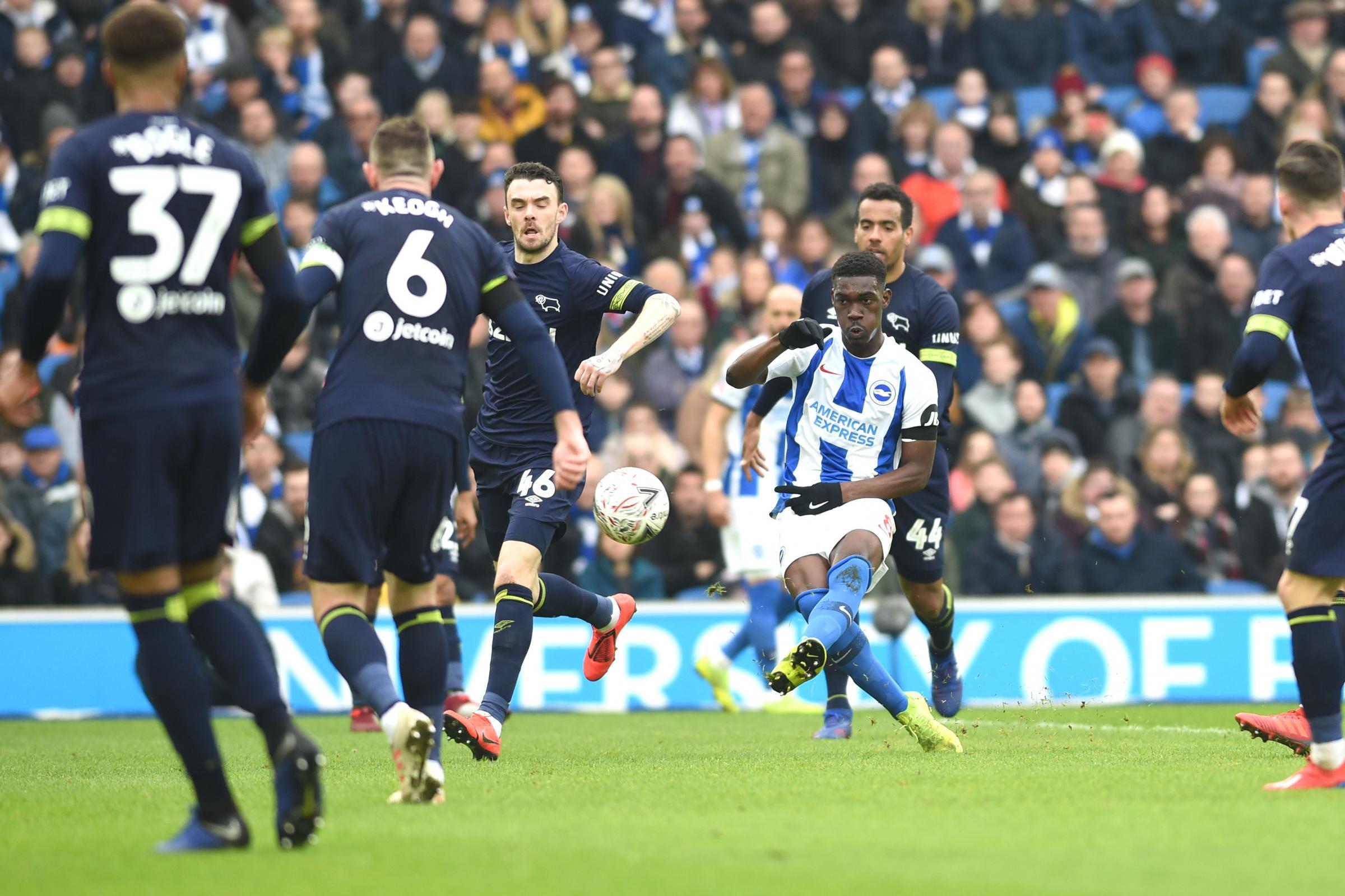 Hughton hits out at 'harsh' ban for FA Cup hero Bissouma