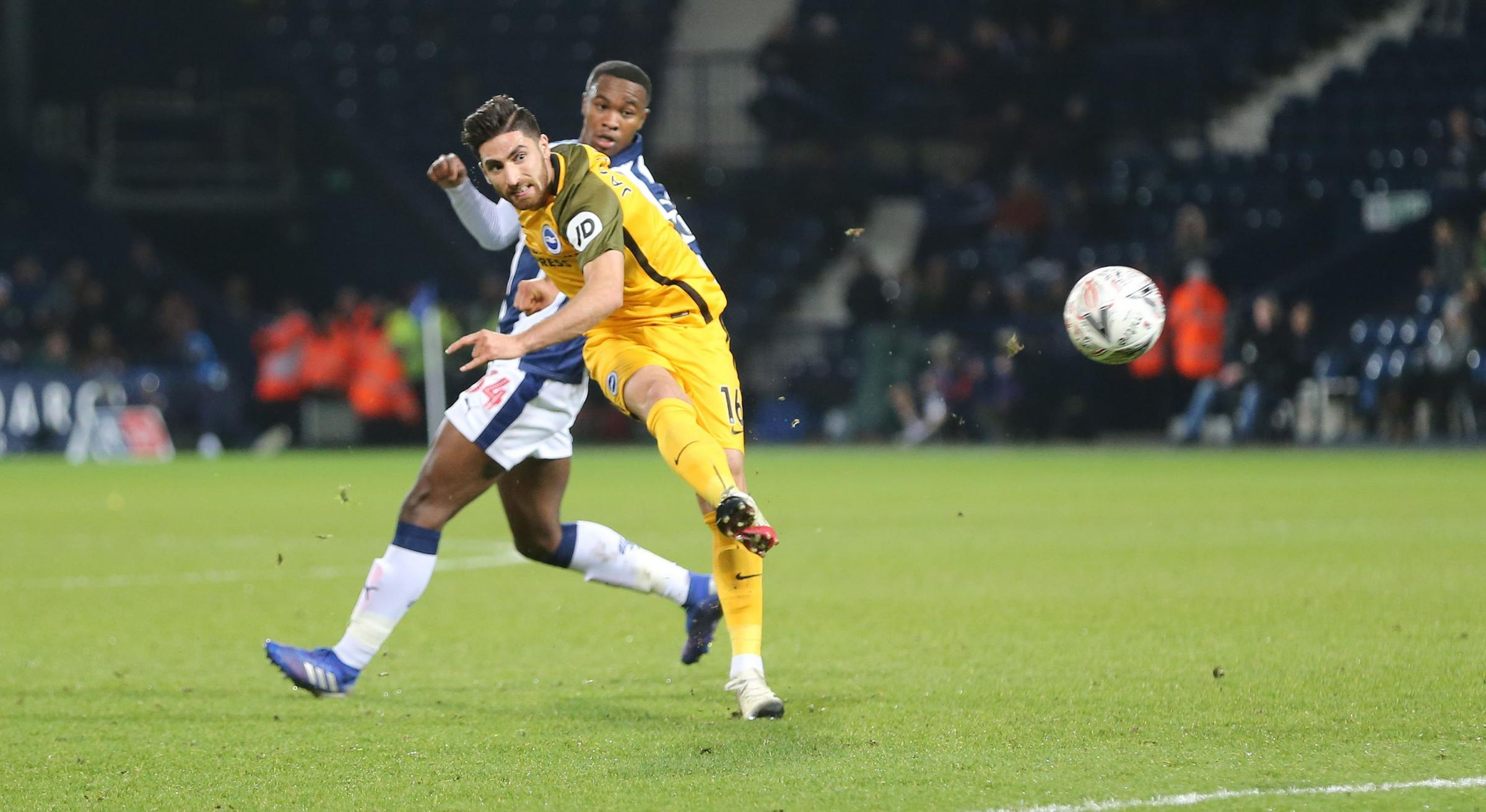 Jahanbakhsh in a hurry to score for the Seagulls