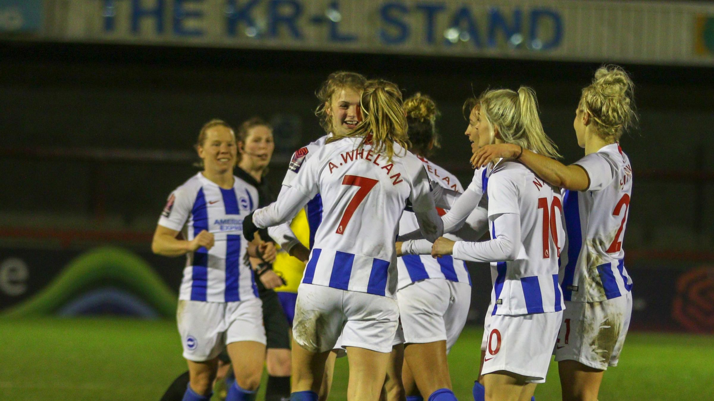 Albion closing in on WSL safety after best result yet