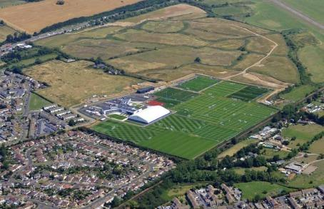 Brighton and Hove Albion training ground extension