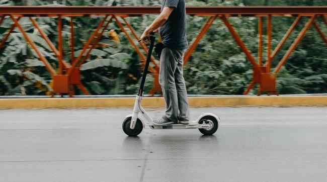 An electric scooter (stock image)