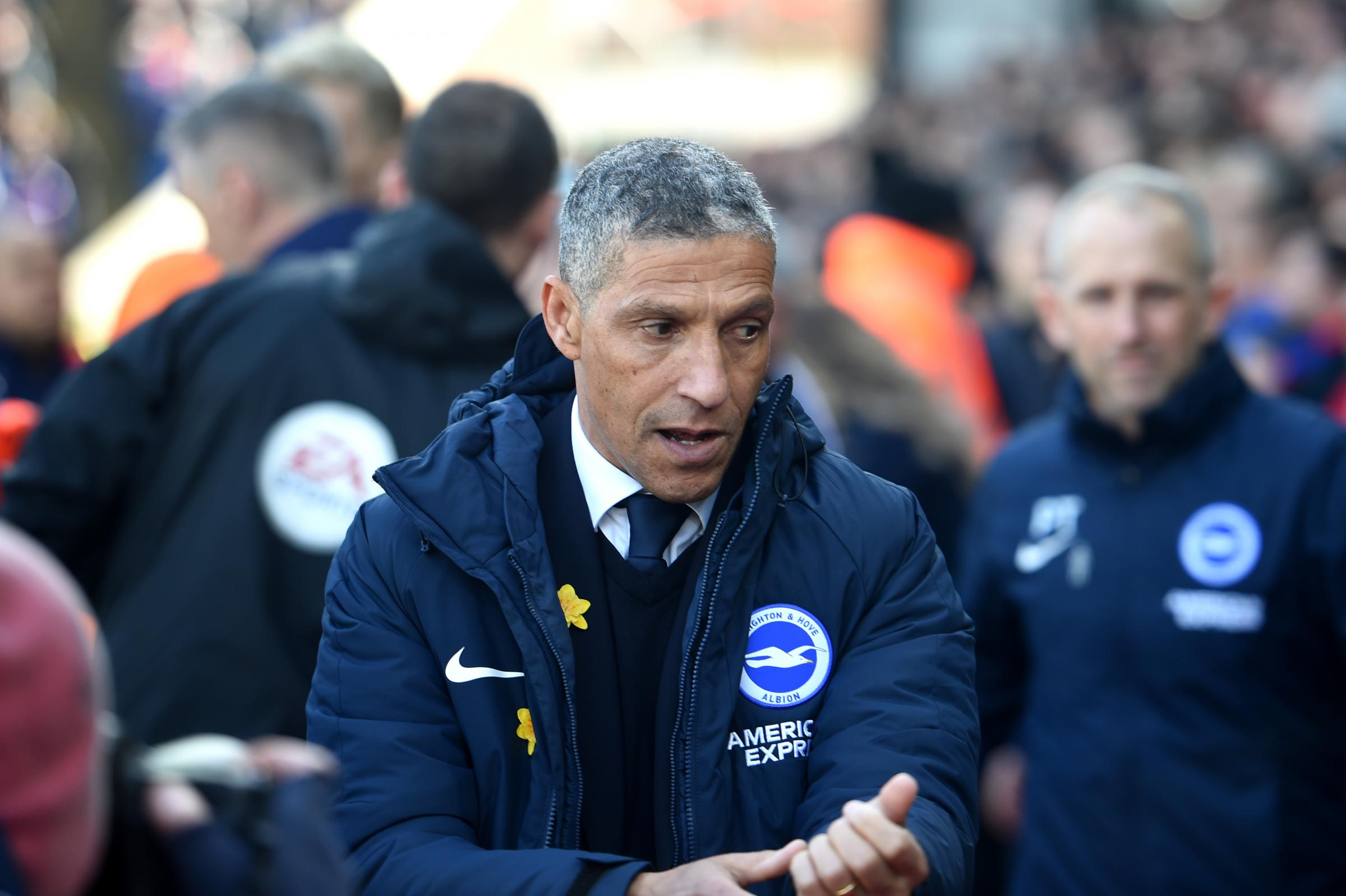 Hughton pleased Albion have rediscovered their mean streak