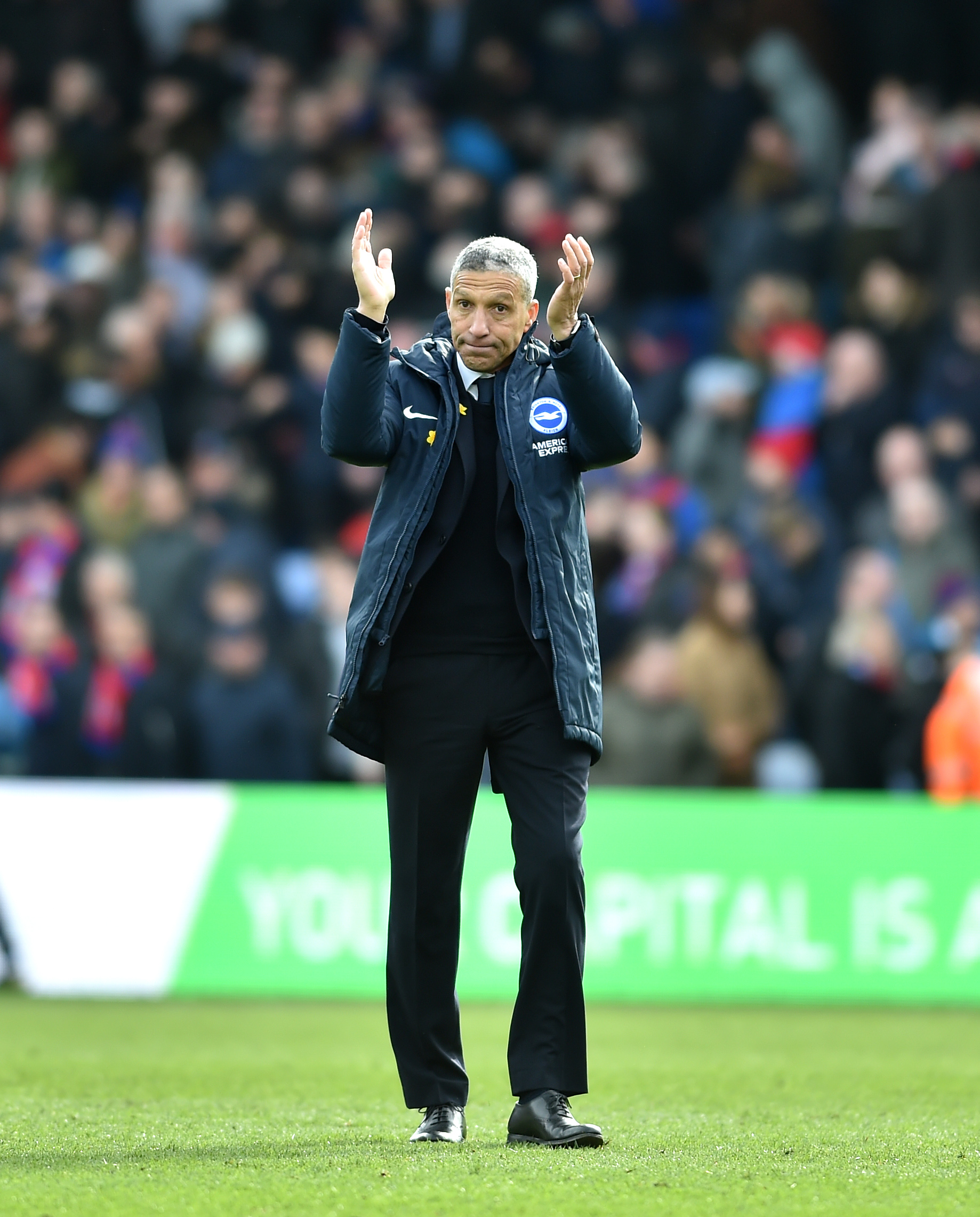 Hughton urges Albion to build on Palace triumph