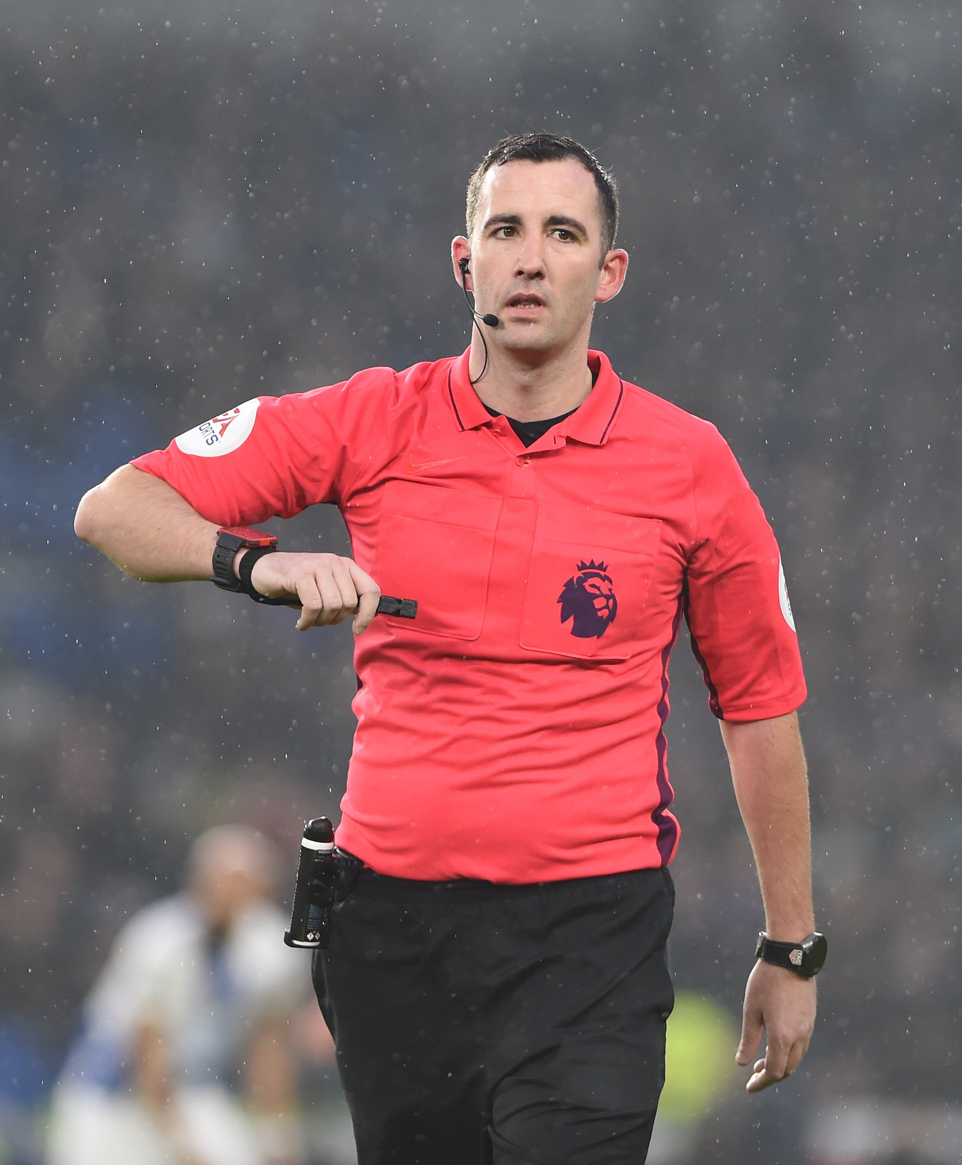 Cup shock referee to take charge at Den