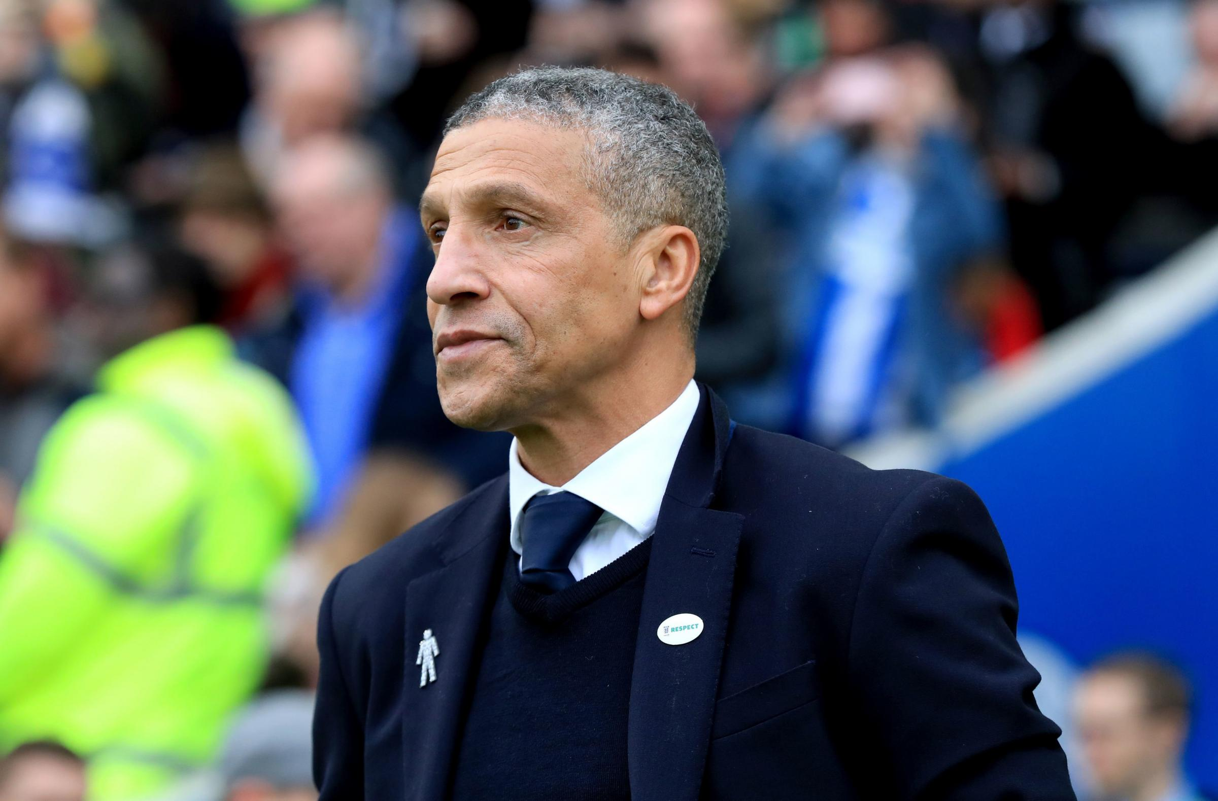 Hughton calls for repeat of Palace