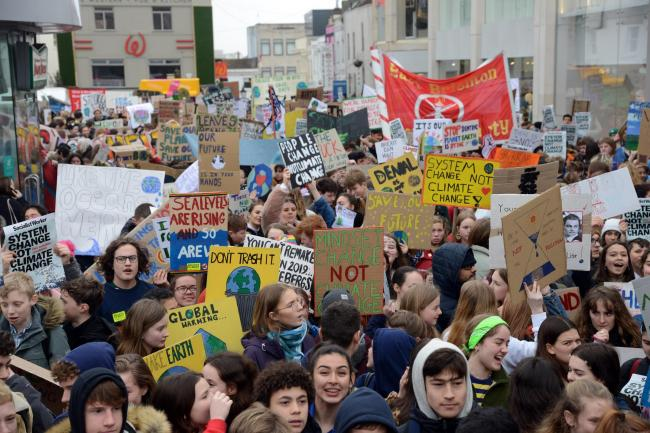 Youngsters in Brighton are preparing for their biggest strike yet Picture: Allan Hutchings.