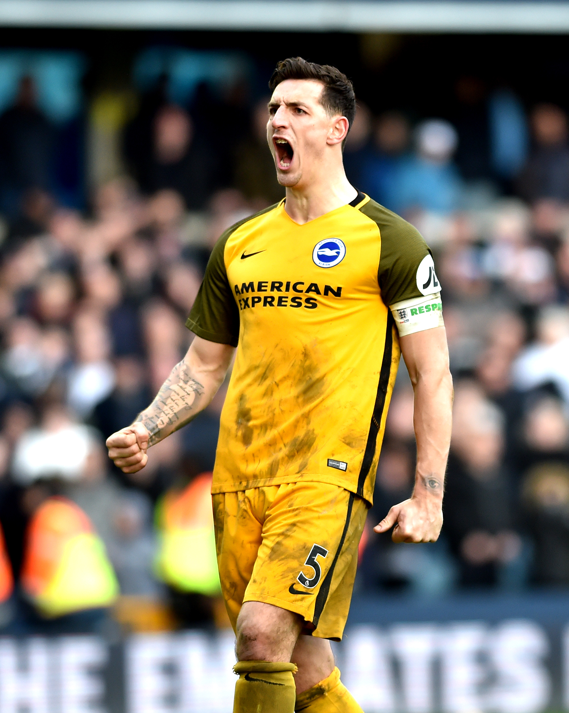Lewis Dunk has been told to shrug off the disappointment of missing out on an England place
