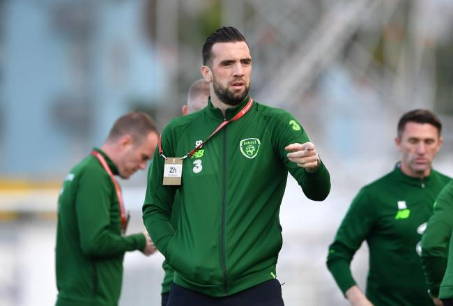 Shane Duffy has picked up an ankle injury with the Republic of Ireland