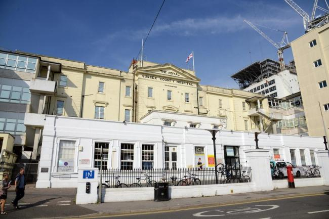 The Royal Sussex County Hospital, Brighton