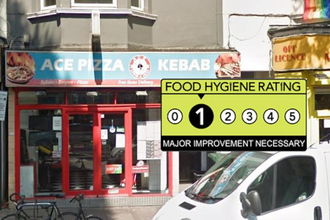 Ace Pizza Food Hygiene Rating 1 Major Improvement