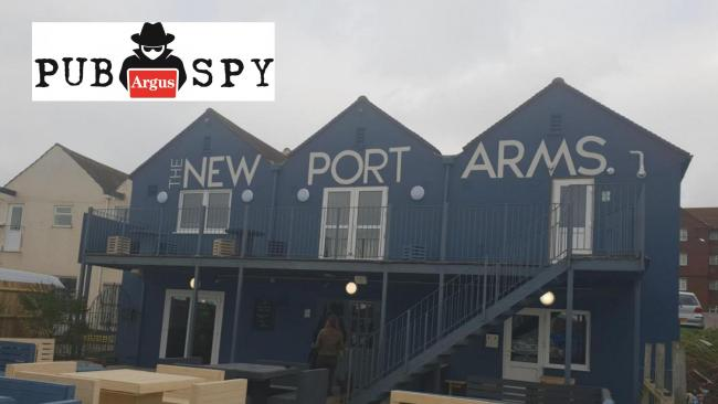 PubSpy is back: see what he makes of the New Port Arms