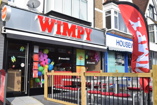 Wimpy has reopened in Station Road, Portslade