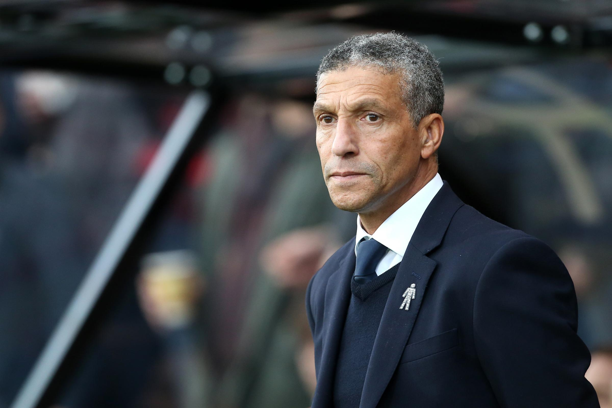 Chris Hughton had a message for his players straight after the Wembley FA Cup semi-final defeat