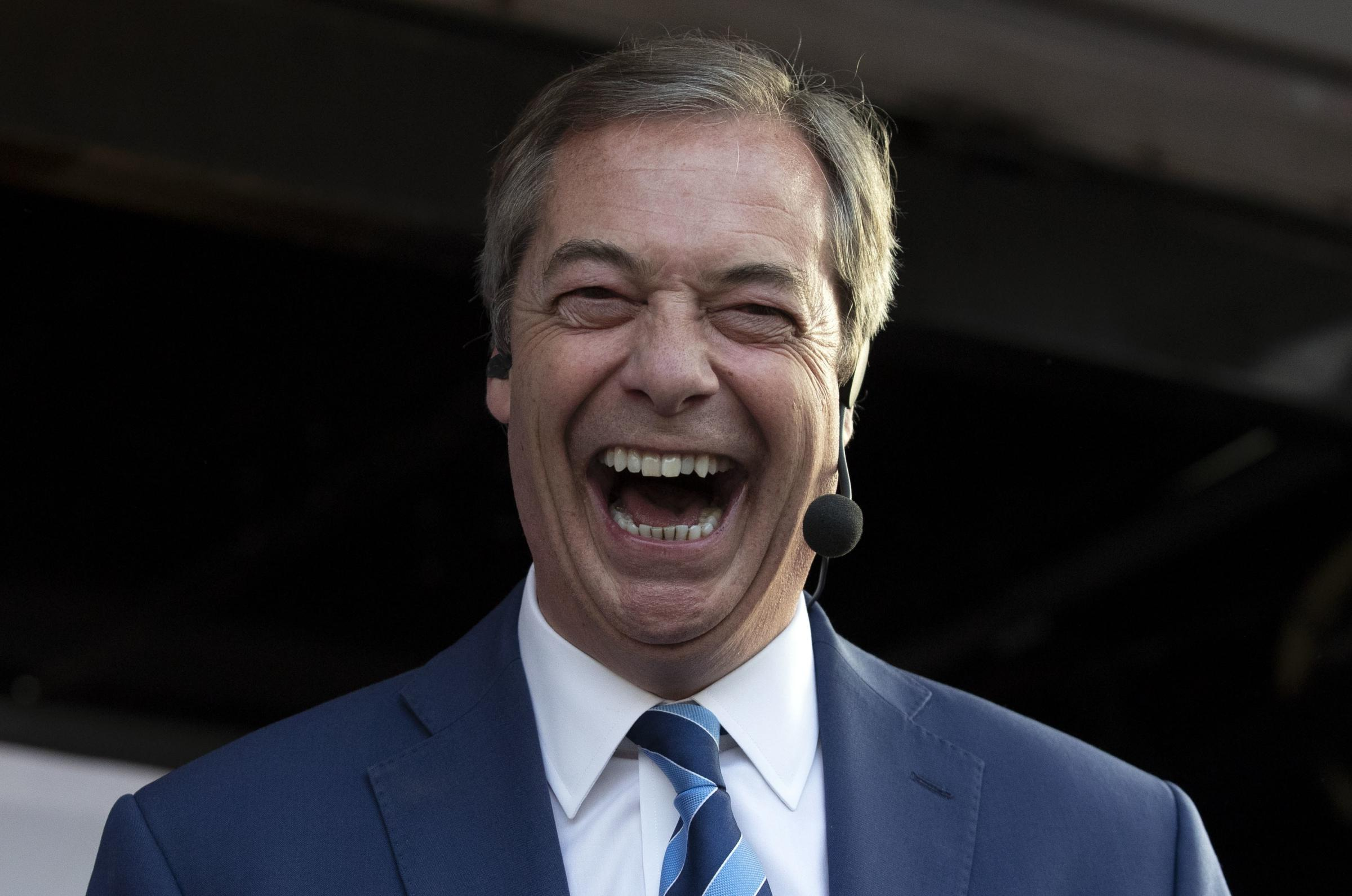 Nigel Farage's Brexit Party to hold rally at Shoreham Airport