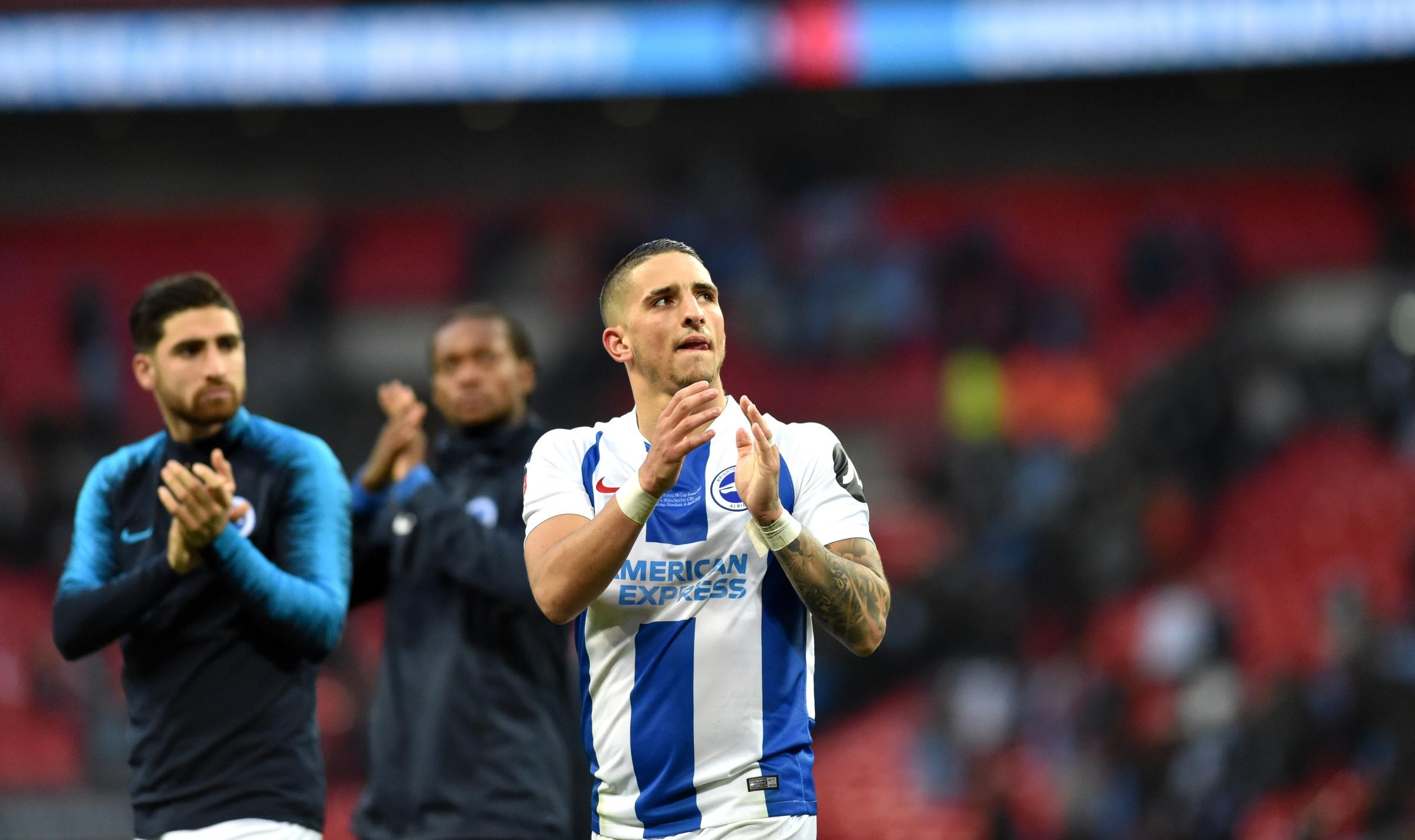 Anthony Knockaert says the semi-final at Wembley was a gala day but the next two Premier games are even more important