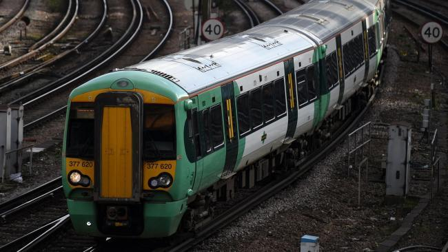 Person hit by train - services affected