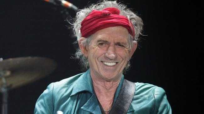 Keith Richards, who lives in West Wittering. Photo: PA
