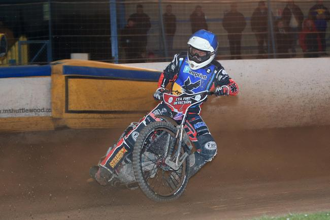 Ben Morley in action. Picture by Mike Hinves