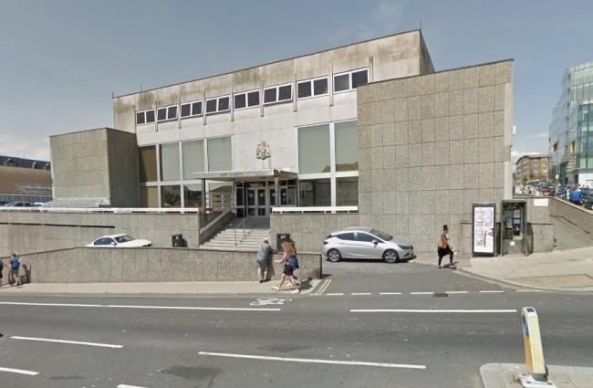 Brighton Magistrates' Court, Edward Street, Brighton. Picture from Google
