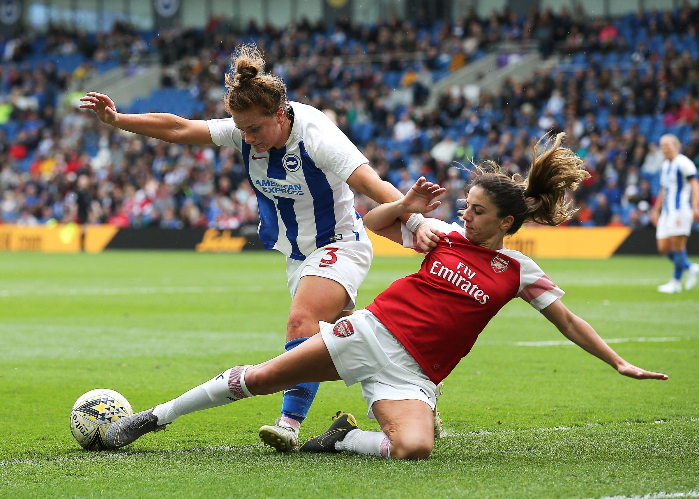Albion's Fliss Gibbons is living the dream