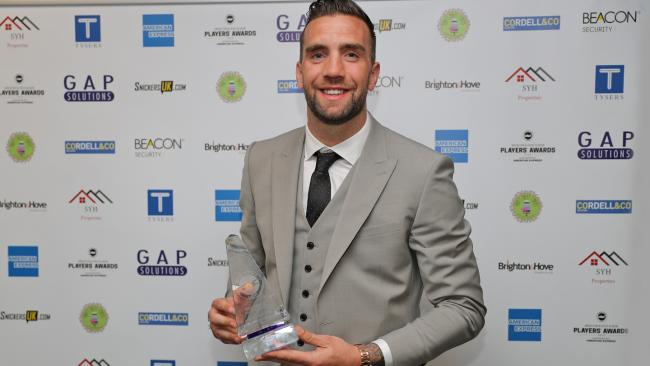 Player of the season Shane Duffy. Picture Paul Hazlewood/BHAFC