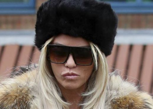 Katie Price asked if on crack after stripping in club