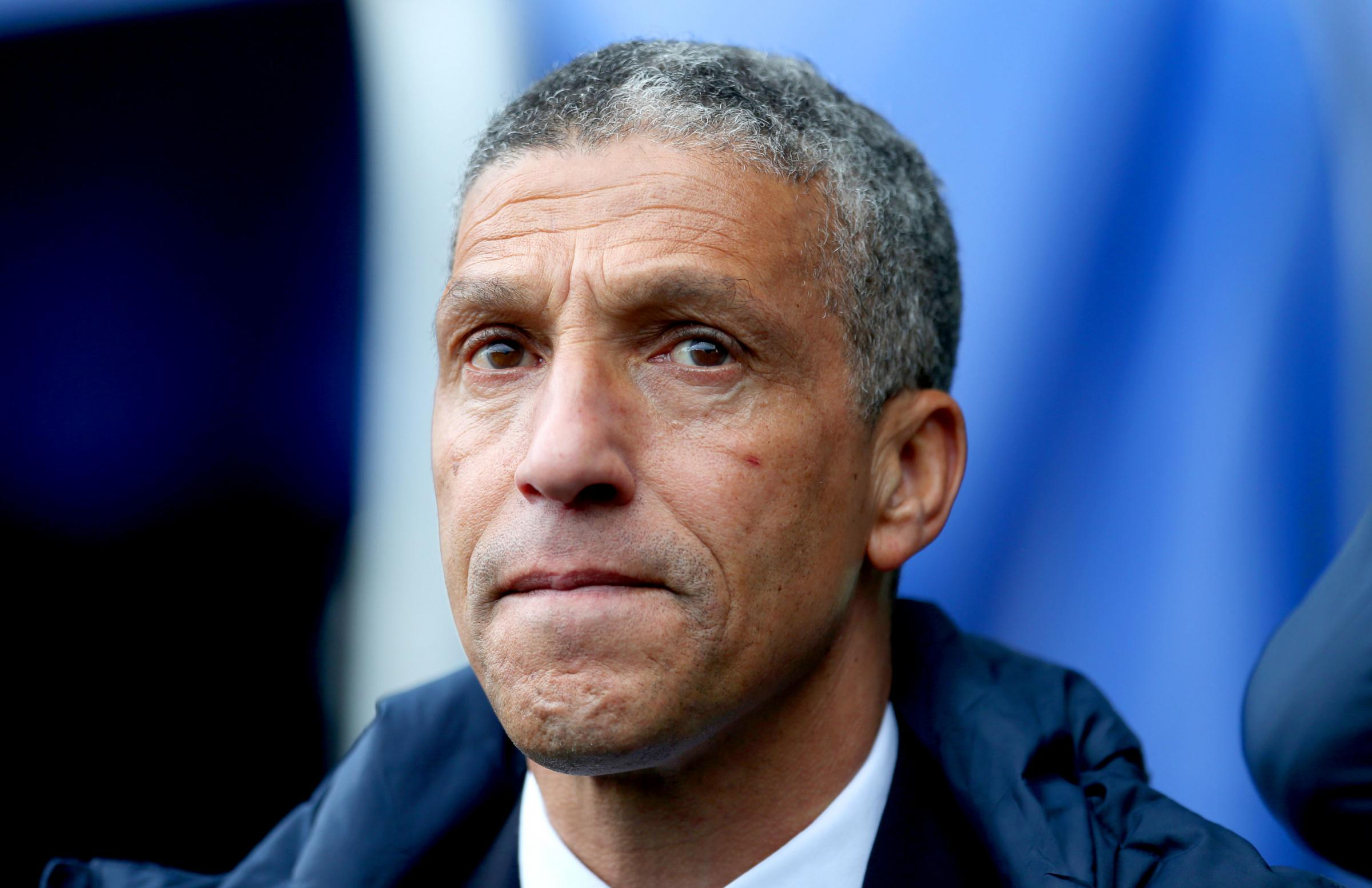 Albion part company with manager Chris Hughton