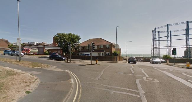 Crash reported at Roedean Road. Picture from Google