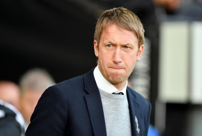 Graham Potter will bring his backroom team to the Amex