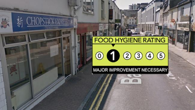 Chopstick Express - Food Hygiene Rating 1 - Major Improvement Necessary
