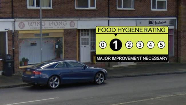 Wing Hong - Food Hygiene Rating 1 - Major Improvement Necessary