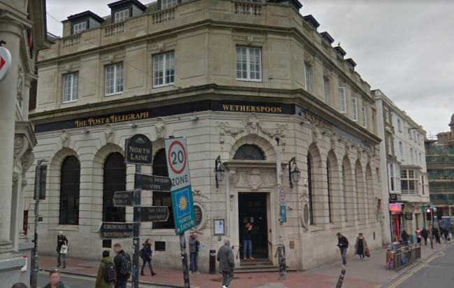 The Post and Telegraph Wetherspoon pub in Brighton. Picture from Google