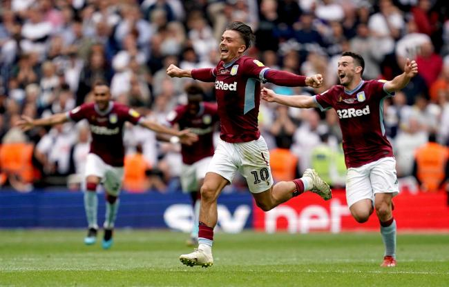 Celebration time for Jack Grealish and Villa