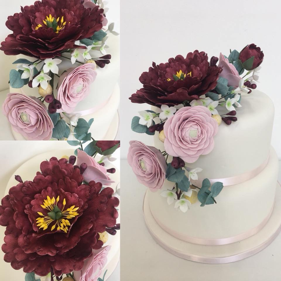 Cake Decorating with Sussex Sugarcraft - Wired Flower Spray