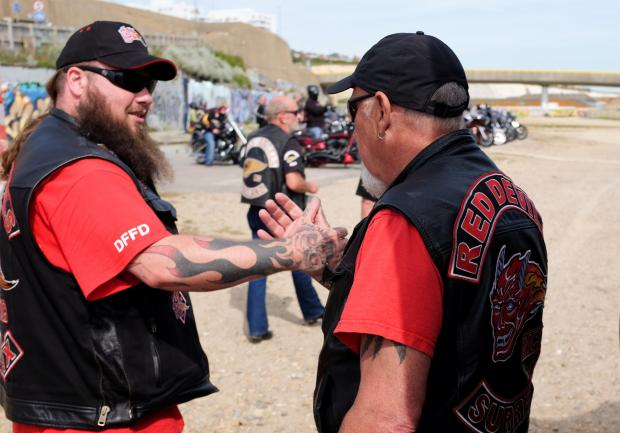 PICTURES: Hells Angels end Euro Run in Brighton | The Argus