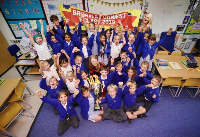 Castlewood Primary School, Horsham, wins Beano joke award