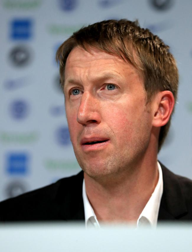 Graham Potter will set his stall out when the Albion players report back at the end of June